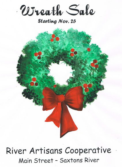 Check out our wreaths first.